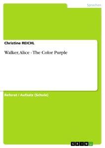 the color purple book kindle walker the color purple masterarbeit