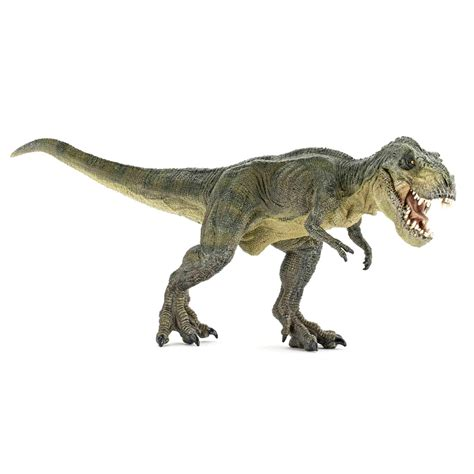 t rex figure papo dinosaurs t rex green running figure new ebay