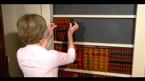 Bookshelf Decor by Faux Books How To Make A Faux Book Secret Door Youtube