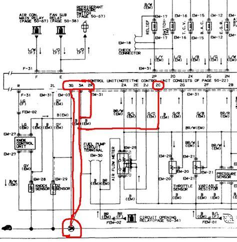 88 mazda rx 7 coil wiring diagram 88 fc3s rx 7 wiring