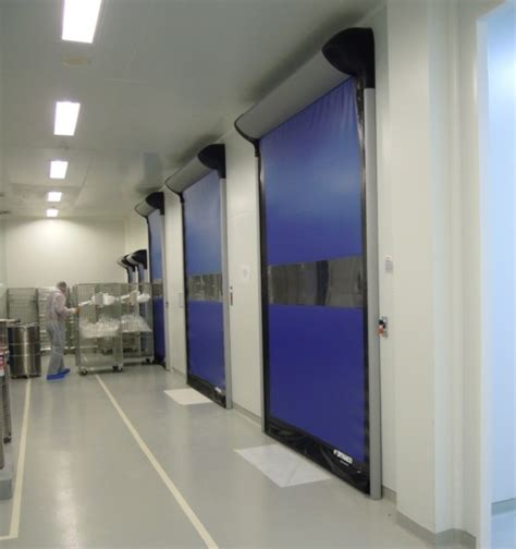 clean room curtain flexible high speed cleanroom doors with superior seal