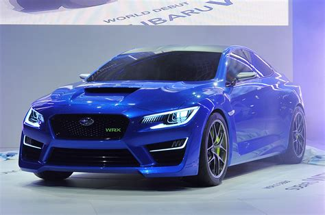 subaru concept subaru wrx concept new york 2013 photo gallery autoblog