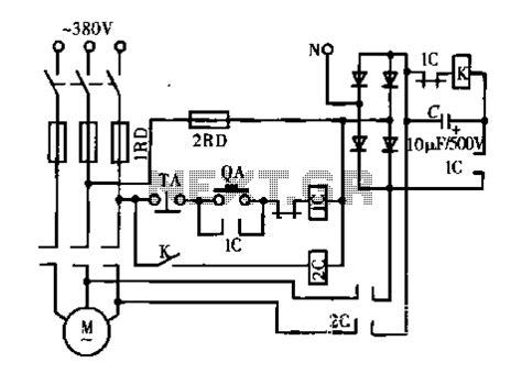 dc motor dynamic braking resistor motor circuit automation circuits next gr