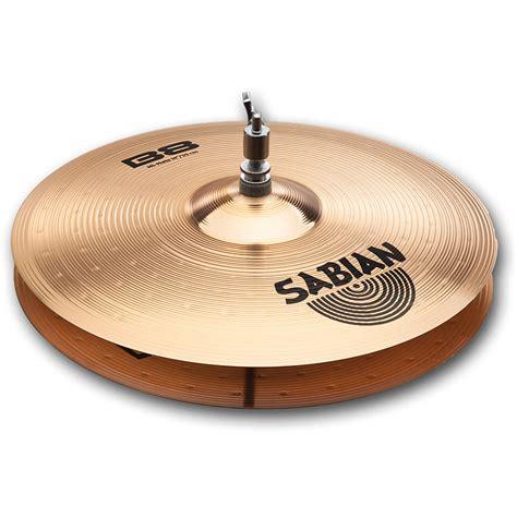 Sabian B8 sabian b8 sa41402 171 hi hat cymbal