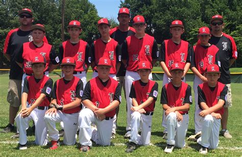 11 12 year old boys all star team includes lexington s 11 12 year old all stars fall short of a