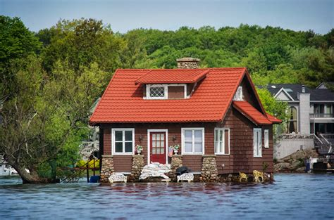 just room enough island lake ontario and thousand islands flood photos i love