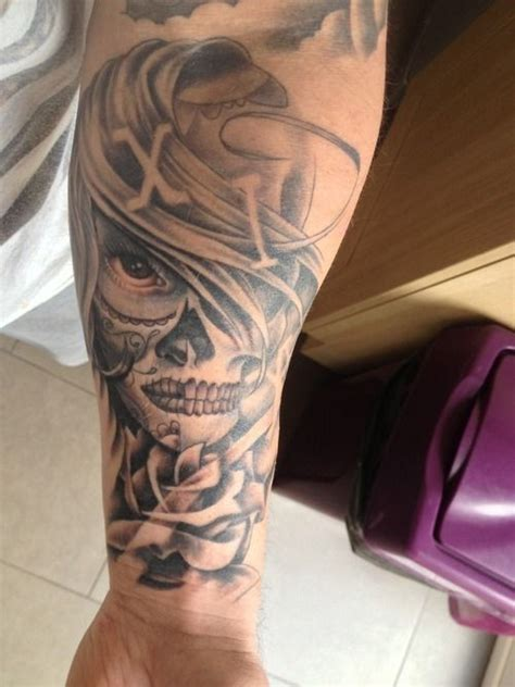 skull forearm tattoo design image forearm tattoo design