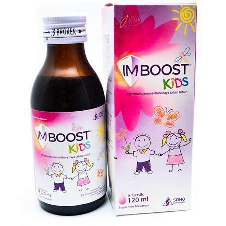 Vitamin Imboost Tablet 10 merk vitamin untuk daya tahan tubuh anak yang bagus