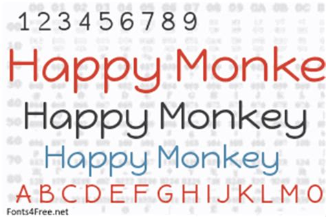 happy monkey font apk happy monkey font fonts4free