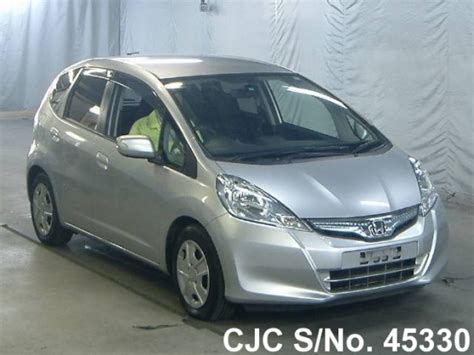 honda jazz 2011 for sale 2011 honda fit jazz silver for sale stock no 45330