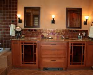 mission style bathroom vanities home design ideas