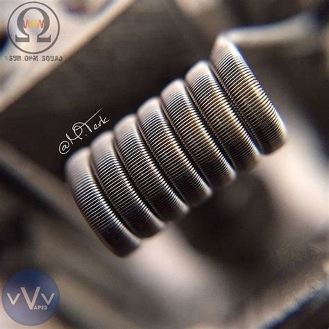 8builds 6 Fused Clapton fused clapton dual coil twistedmesses rda specs 2 26g an80 cores wrapped in 40g n80