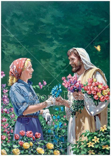 Jesus Garden by Jesus In Garden