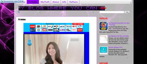 cara membuat tv online di blog wordpress cara membuat halaman tv online di blog zipie
