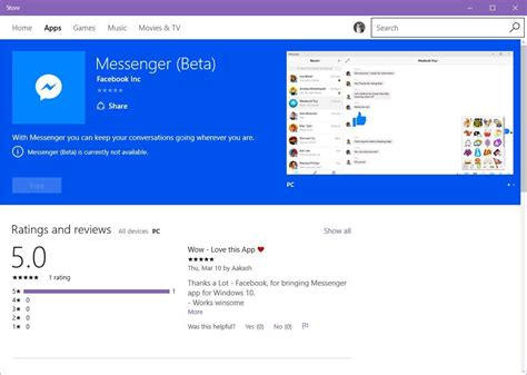 free messenger for mobile messenger for windows 10 mobile now available for