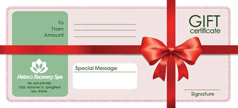 free gift card template photoshop free gift certificate templates in photoshop and