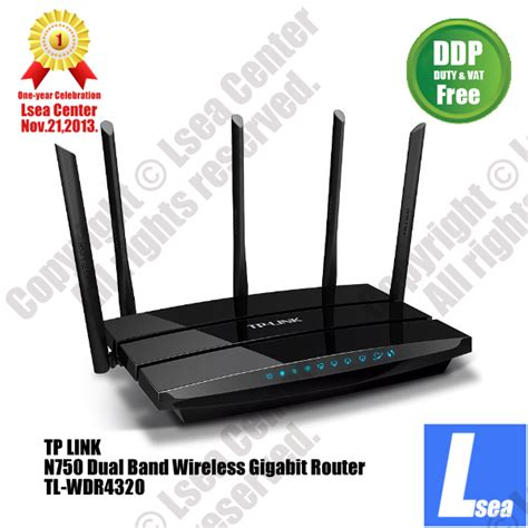 Router Tp Link N750 tp link n750 wireless dual band gigabit wifi router five antenna dual usb port lsea center cost