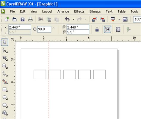 corel draw x5 object manager spacing objects coreldraw graphics suite x5 coreldraw