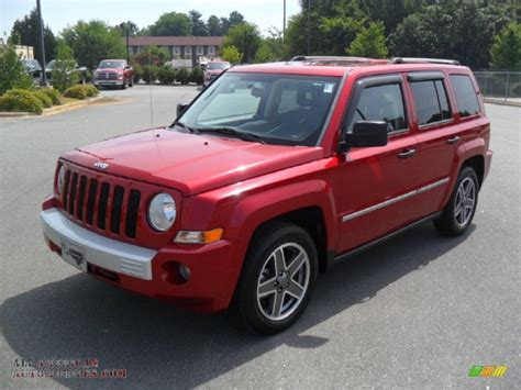 how cars engines work 2009 jeep patriot lane departure warning 2009 jeep patriot limited in inferno red crystal pearl 118341 all american automobiles buy