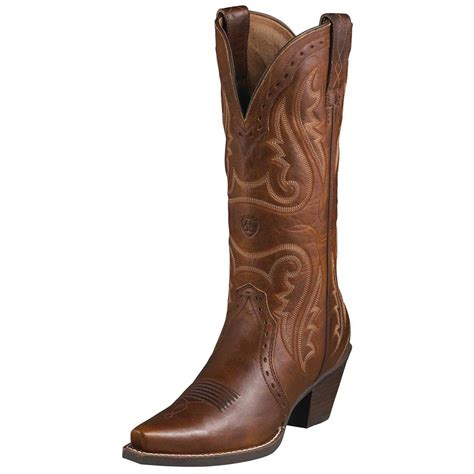 womans western boots s ariat 174 12 quot heritage western x toe cowboy boots