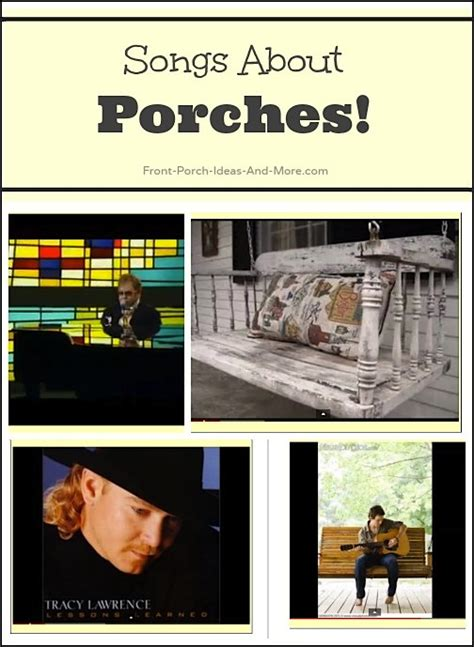 Songs From The Front Porch country songs country song lyrics country about porches