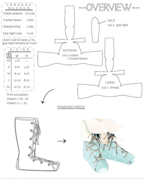 pattern making online free moccasin boot pattern free cladem