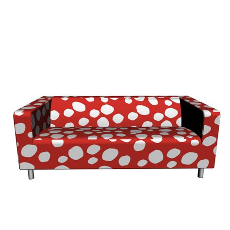 ikea red loveseat klippan loveseat dottevik red design and decorate your