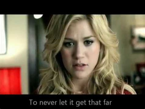 because of you testo because of you clarkson lyrics on official