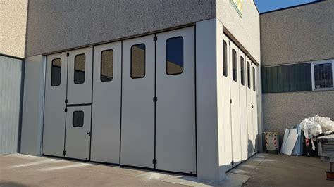 porte per capannoni porte a libro per capannoni industriali qualche dettaglio