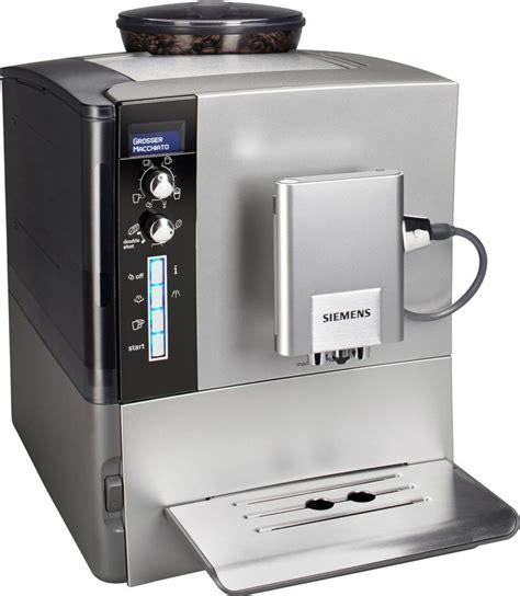 siemens kaffeevollautomat integriert siemens kaffeevollautomat 187 eq 5 macchiatoplus te506501de