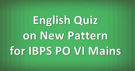 english pattern for ibps po exam pundit achieve inspire repeat