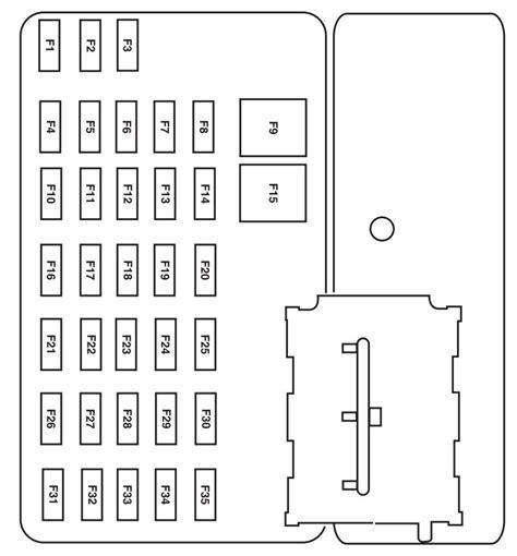 mazda tribute 2006 fuse box diagram auto genius