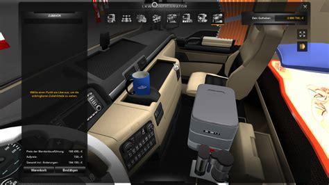 maen interieur ets 2 man interior with addons v 2 0 trucks mod f 252 r