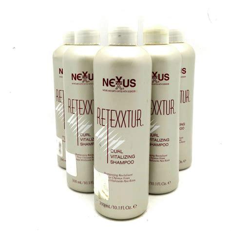 Nexxus Permanent Hair Detox Shoo by Nexxus Retexxtur Curl Vitalizing Shoo 60 6oz Set Of 6