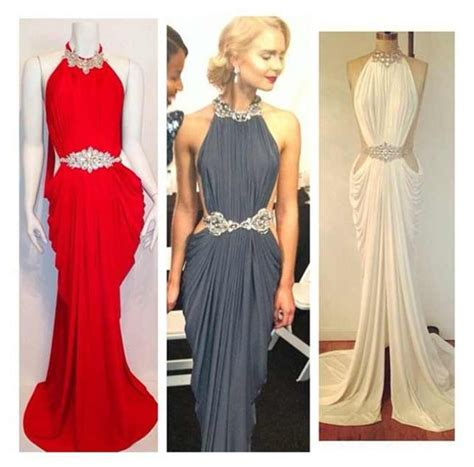 Vannesa Dress Series 3 Original Brand By Rara Busana dress grecian goddess michael costello maxi dress white