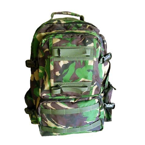 Tas Laptop Loreng tas ransel army tas militer kain polyerter loreng jatah