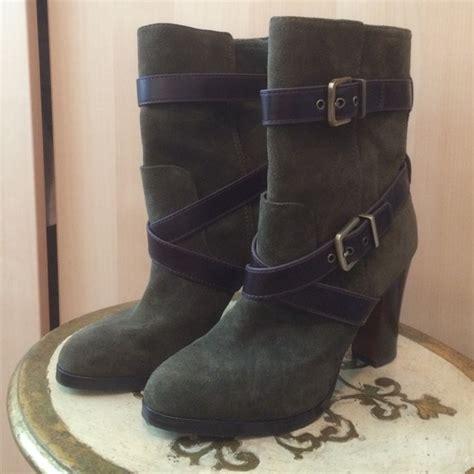 71 pour la victoire shoes moss colored suede boots