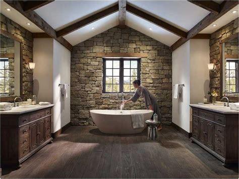 Rustikale Badezimmer Entwurfs Ideen by Erstaunlich Rustikale Badezimmer Design Ideen