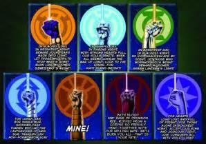 lantern colors lantern corps oaths dc marvel lantern