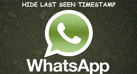hide last seen status on whatsapp android - Whatsapp Hide Last Seen Apk