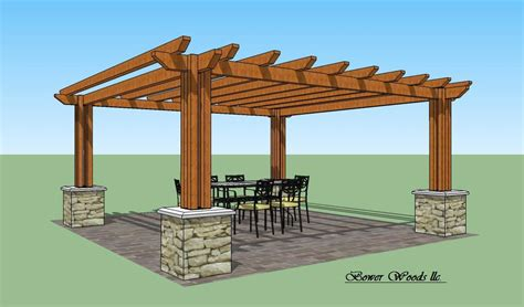 pergola plans personalise your home by utilizing a
