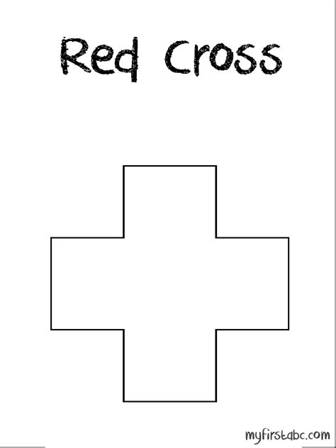 red cross coloring page coloring pages red cross
