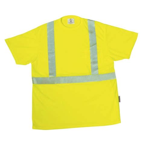 home depot safety yellow paint 3m tekk protection yellow unisex large safety t