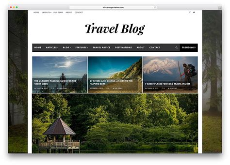 newspaper theme blog 50 best wordpress travel themes for blogs hotels and