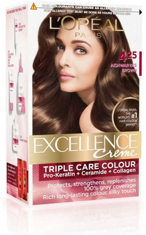 buy l oreal 174 excellence 174 cr 232 me protection hair color in 5 medium brown from bed loreal excellence creme hair color l oreal excellence creme hair color price in india