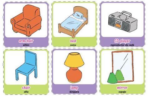 imagenes en ingles de objetos furniture and house things las cosas de la casa