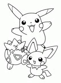 pokemon coloring pages kids