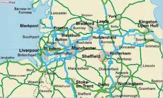 Map Of Northern England by Maps