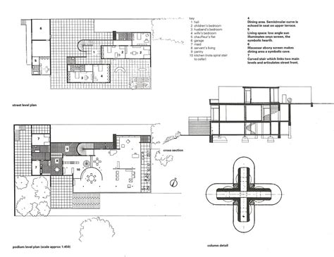 villa tugendhat floor plan architecture as aesthetics villa tugendhat