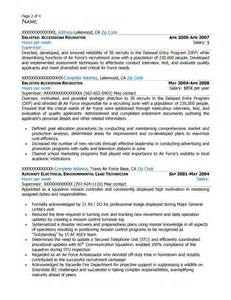 free federal resume sle from resume prime